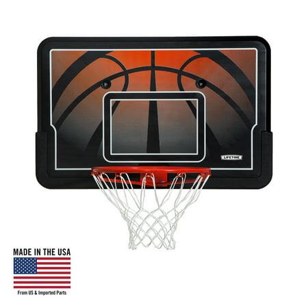 Lifetime Basketball Backboard and Rim Combo (44-Inch Impact), 90703 (Room Basketball Hoop)