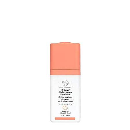 Drunk Elephant C-Tango Multivitamin Eye Cream. Brightening and Restorative Under Eye Cream with Vitamin C. 15 Milliliters/ .5 Ounce.
