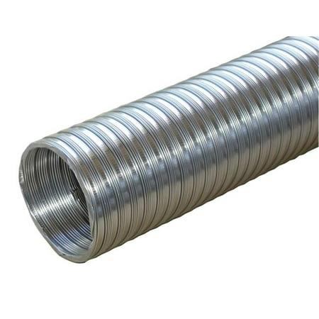 Builders Best 011584 Flexible Aluminum Pipe, 0.33 x 8 (Best Tool To Cut Metal Pipe)