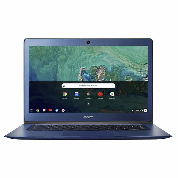 Acer Chromebook 14 Intel Celeron-1.6Hz 4GB 32GB Flash Chrome OS w Sleeve & Mouse - Refurbished