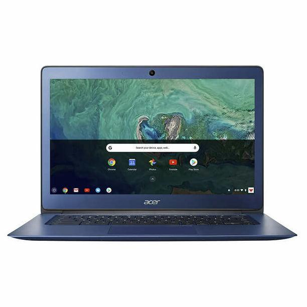 Acer Chromebook 14 Intel Celeron-1.6Hz 4GB 32GB Flash Chrome OS w Sleeve & Mouse - Refurbished