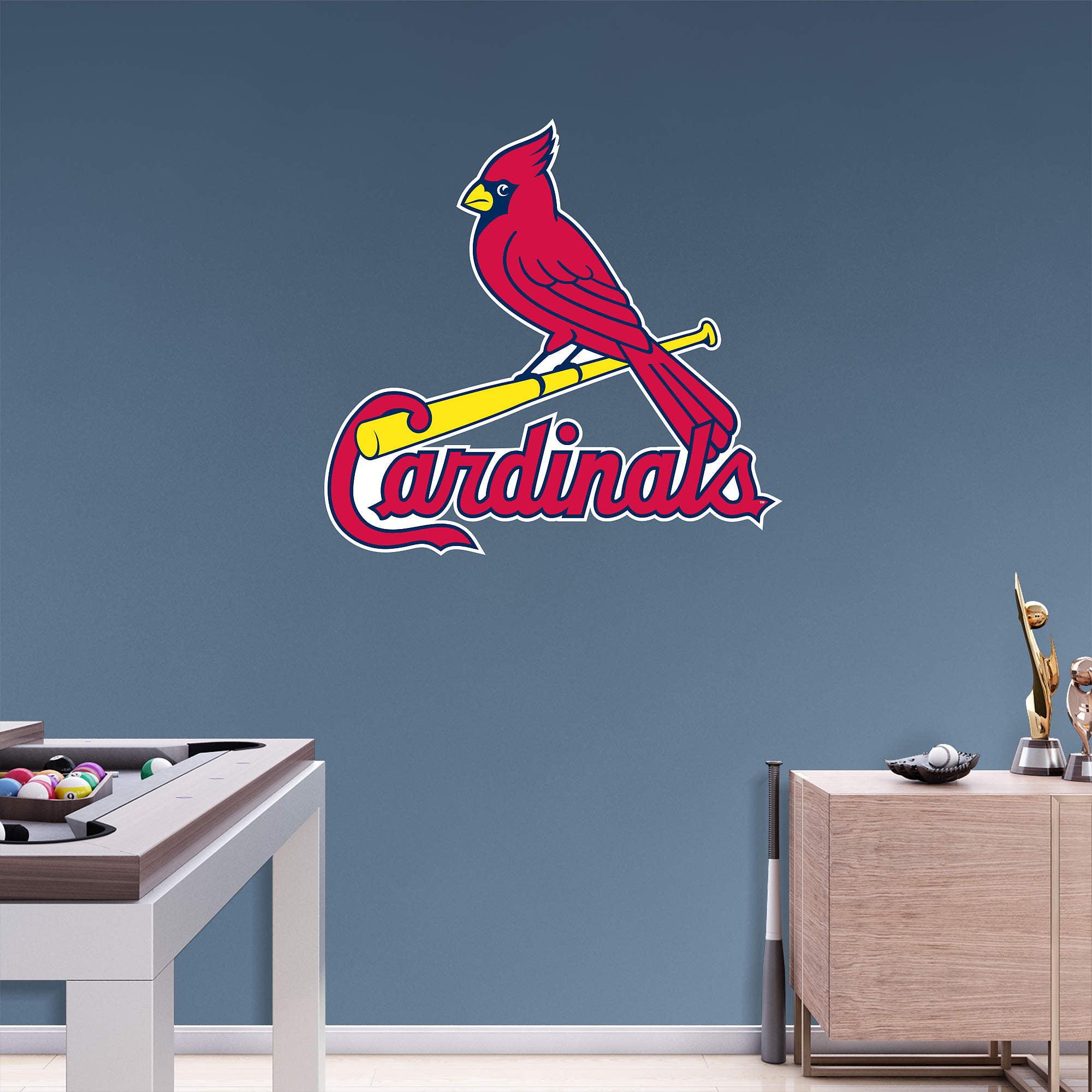 St. Louis Cardinals Fathead Team Logo Wall Decal - No Size