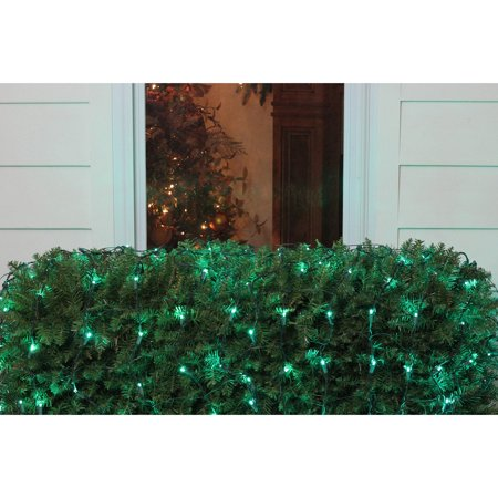 Northlight 150 LED Net Christmas Lights on Green