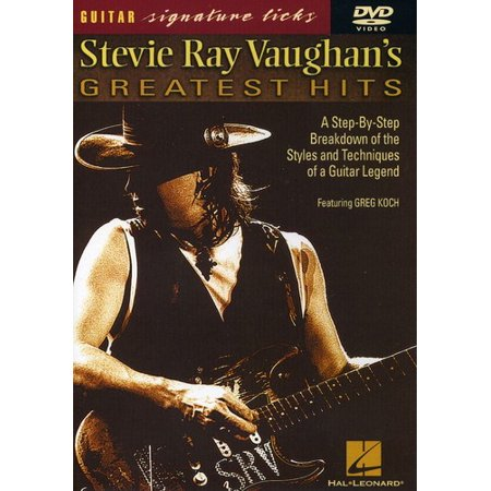 Guitar Play Along: Stevie Ray G.H. Signature Licks
