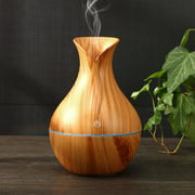 Essential Oil Aroma Diffuser LED Ultrasonic Wood Humidifier Aromatherapy Air Purifier