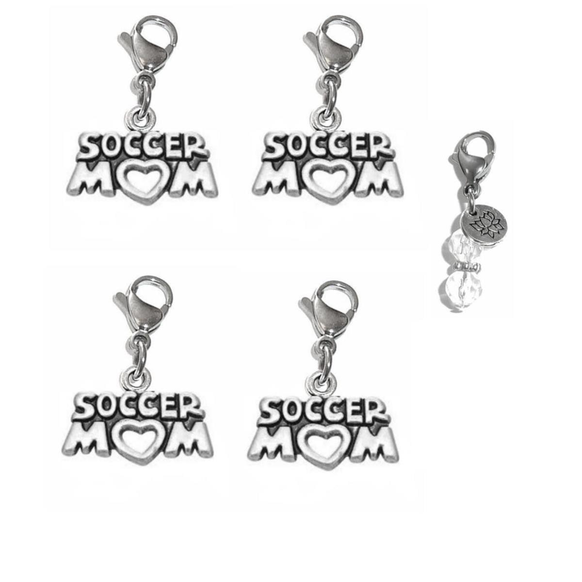 Clip-on-Charm special mother Bracelet Pendant Purse Zipper Pull