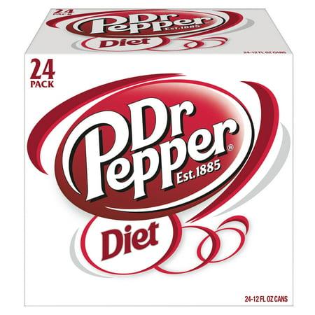 Diet Dr Pepper - 24pk/12 fl oz Cans