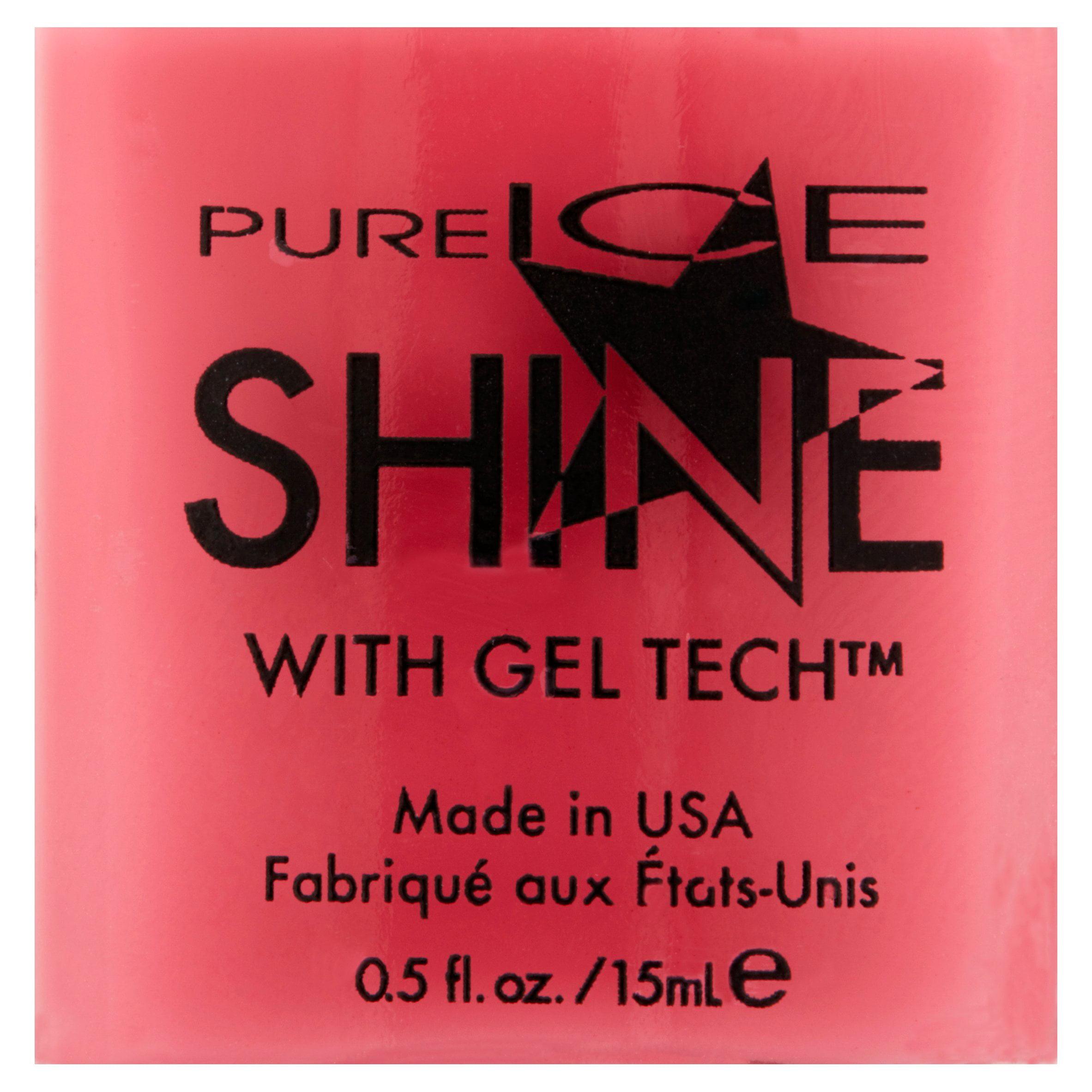 Pure Ice Shine with Gel Tech Nail Polish, Sleek Peek, 0.5 fl oz ...