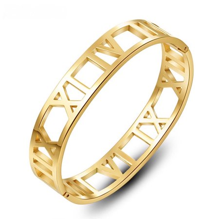 Gold Filled Cuff Bracelet (Lowest Price Ever!!! Fashionvare Stainless-Steel Bracelet )