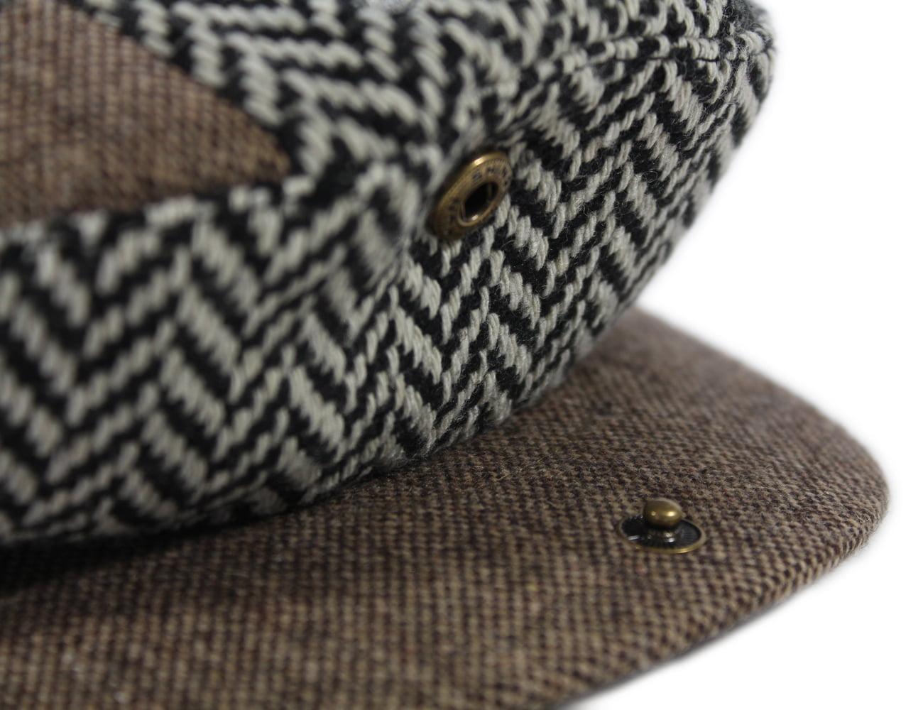 fbd0fed11 Patrick Francis Patchwork Tweed Cap Kids Irish Made Large