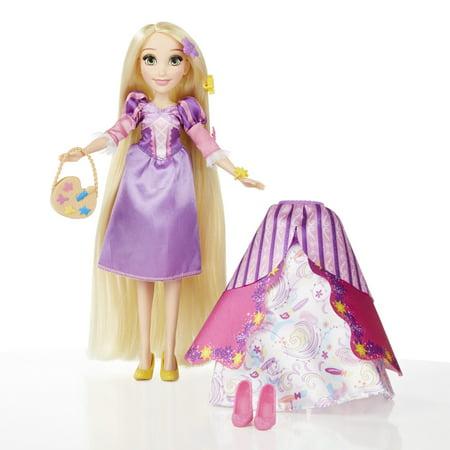 Disney Princess Shoe Pin Set (Hasbro Disney Princess Layer 'n Style Rapunzel Ages)