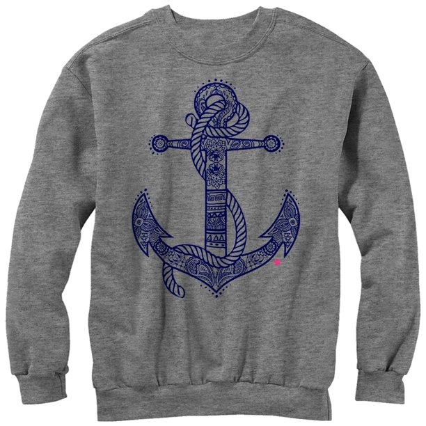 Chin Up Women's Henna Anchor Sweatshirt