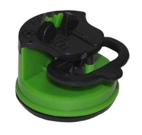 GRIP Knife Sharpener Kitchen Cutlery Shears Suction Cup Bottom Holder 78361 by Gripontools