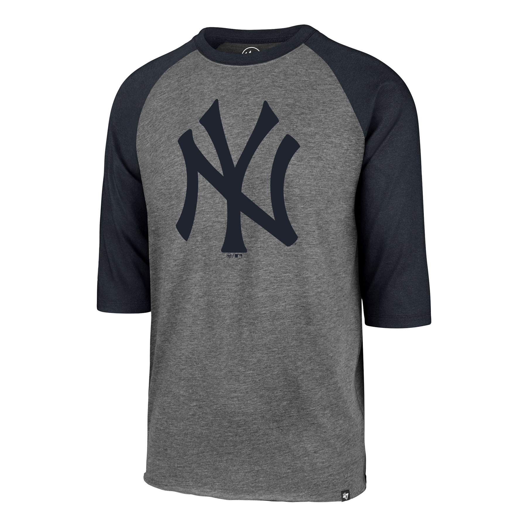 New York Yankees MLB Imprint  47 Club Raglan 3 4 T-Shirt c0fd7032f2b