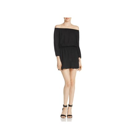 Soft Joie Womens Sarnie Smocked Blouson Mini Dress