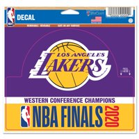 Los Angeles Lakers WinCraft 2020 Western Conference Champions 5'' x 6'' Multi-Use Decal