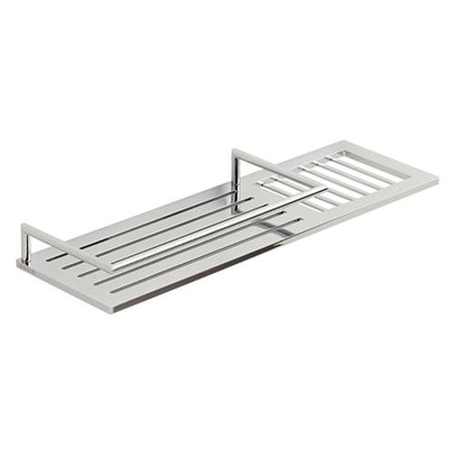 Buy Ginger 28501-15 Surface 14 Inch Combo Shower Shelf In Satin Nickel by Ginger