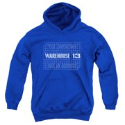 Warehouse 13 Blueprint Logo Big Boys Pullover Hoodie