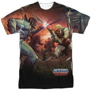 Masters Of The Universe Battle (Front Back Print) Mens Sublimation Shirt