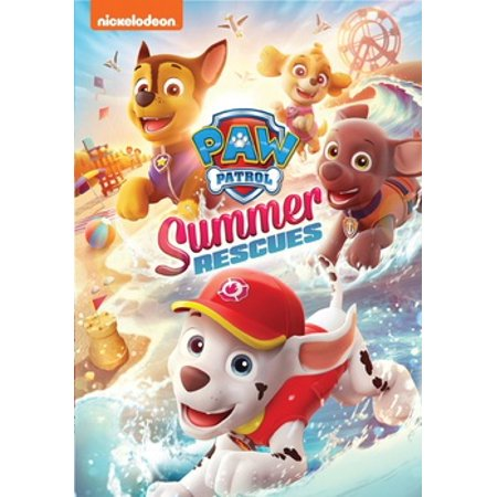 Paw Patrol: Summer Rescues (DVD)