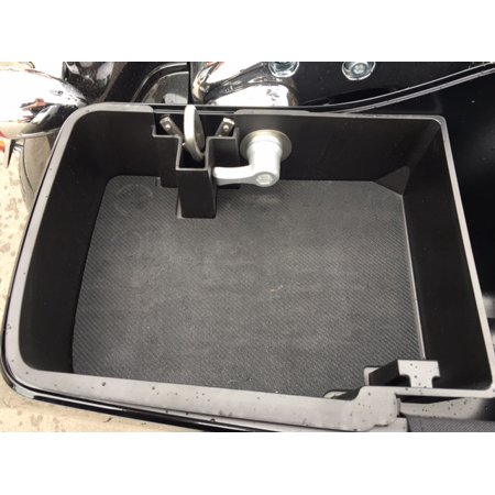 Top Shelf Custom Injection Molded ABS Saddlebag Organizer Tray, 2014 - Current H-D ABS Hard Bags, RT