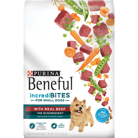 Purina Dog Beneful Healthy (Purina Beneful Small Breed Dry Dog Food, IncrediBites With Real Beef - 14 lb.)