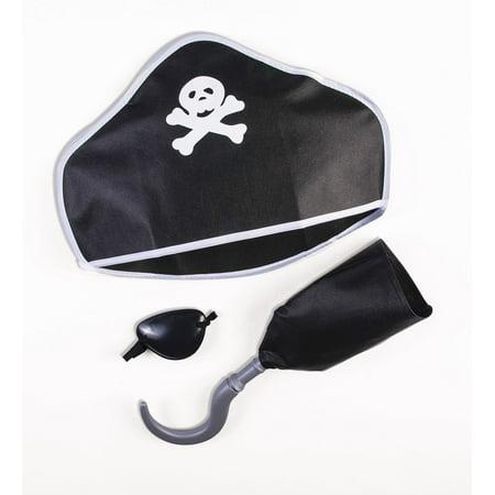 Pirate Playset Costume Kit - Halloween Playsuit