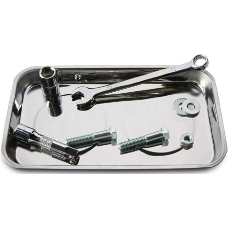 Tool Rectangle Magnetic Parts Tray Auto Automotive Box Socket Nuts Bolt ()