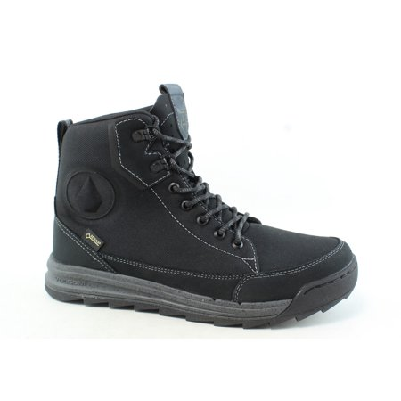 Volcom Mens Roughington New Black Ankle Boots Size 8.5 ()