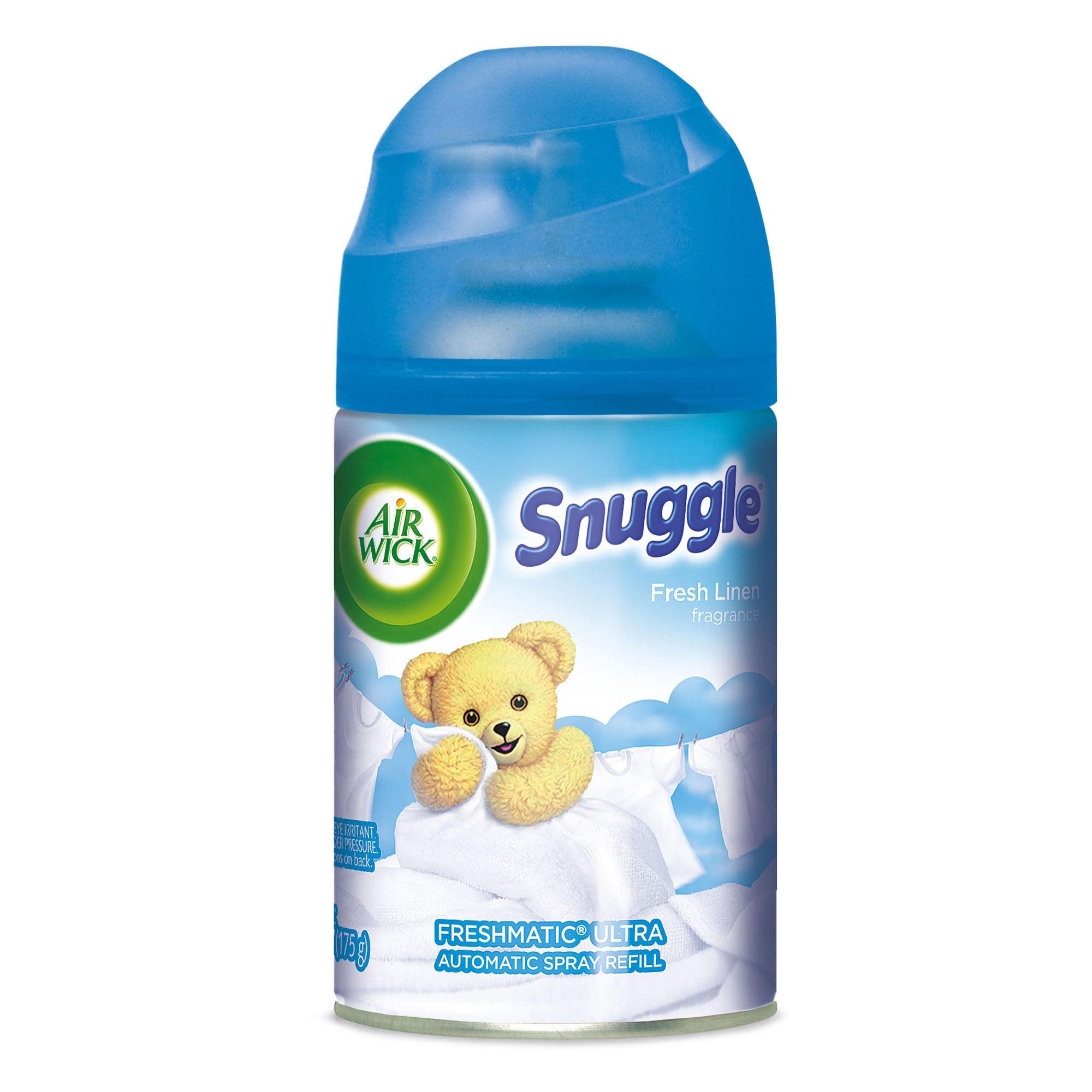 Air Wick Freshmatic Refill Automatic Spray, Snuggle Fresh Linen, 6.17oz, Air Freshener