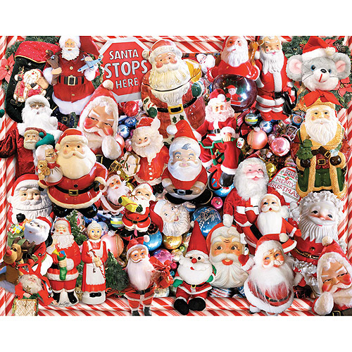 White Mountain Puzzles Santa Claus Jigsaw Puzzle, 1000-pieces