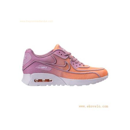 Nike Womens Air Max 90 Ultra 2.0 BR Leather Low Top Lace Up