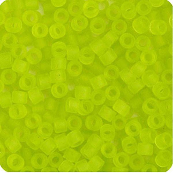 Delica 11//0 RD Chartreuse