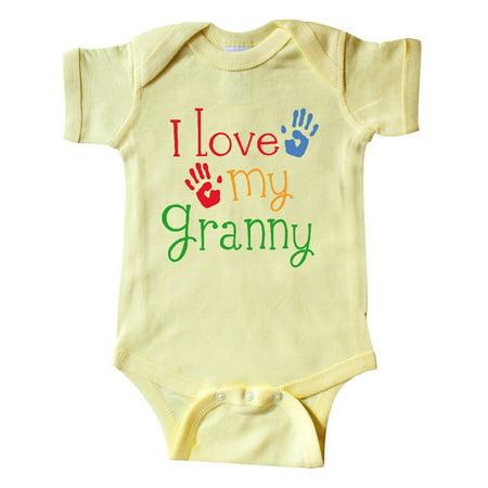 I Love My Granny Infant Creeper