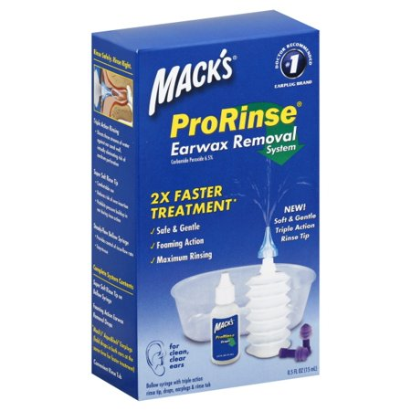 McKeon Products Macks Pro Rinse Earwax Removal System, 1 (Best Ear Wax Removal Products)