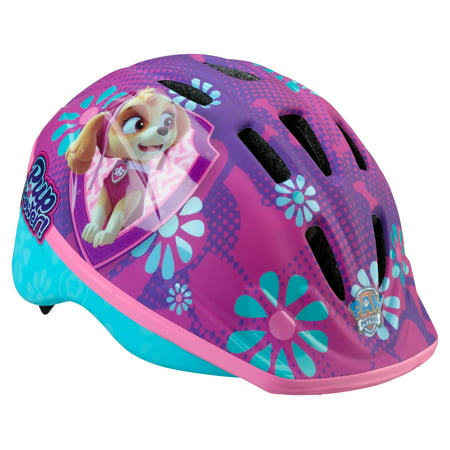 PAW Patrol Skye Toddler Bike Helmet, Ages 2-5, Purple/Pink
