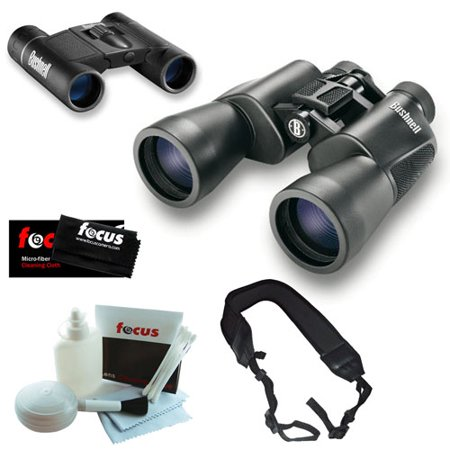 Bushnell 20x50mm Powerview Surveillance 8x21mm Binoculars W Accessories