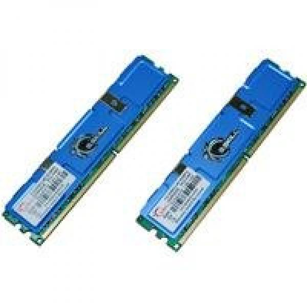 G.SKILL 4GB (2 x 2GB) DDR2 667MHz (PC2 5300) 240-Pin Dual Channel Kit Desktop Memory Model F2-5300CL4D-4GBPQ