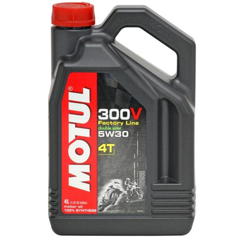 Motul 104108 300V 4T Competition Synthetic Oil - 5W30 - 1L.
