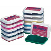 "My First ColorBox Non-Toxic Washable Stamp Pad Set, 2.88"" x 2"", Assorted Colors, Multiple Set Counts"