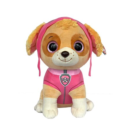 TY Beanie Boos - Paw Patrol - SKYE Cockapoo Dog (LARGE Size - 17