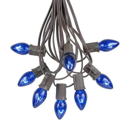 Novelty String Lights Indoor : Novelty Lights C7 Clear Christmas Lights Set - Indoor/Outdoor Christmas Light String - Christmas ...