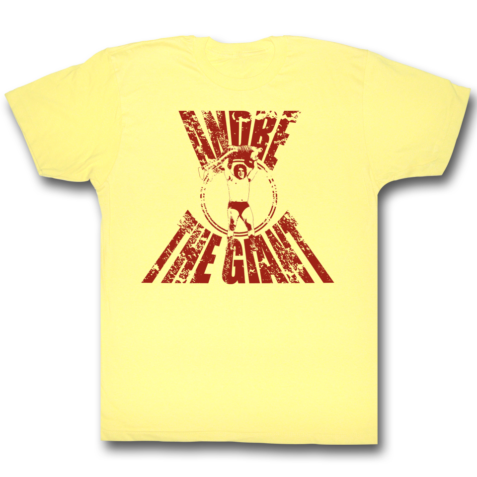 ANDRE THE GIANT REAL G Shirt