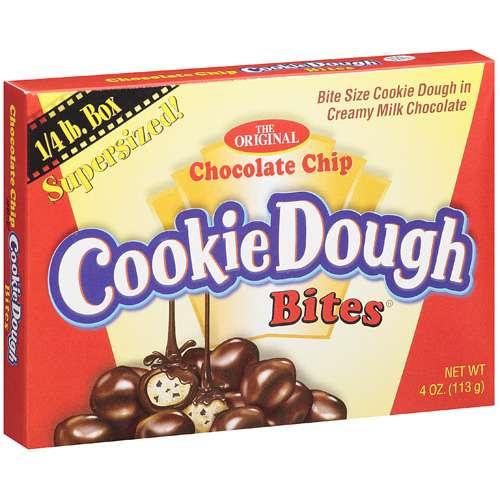 Taste Of Nature: Chocolate Chip Cookie Dough Bites, 4 Oz