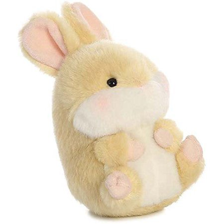 Lively Bunny Rolly Pet 5 inch - Stuffed Animal by Aurora Plush (16810)