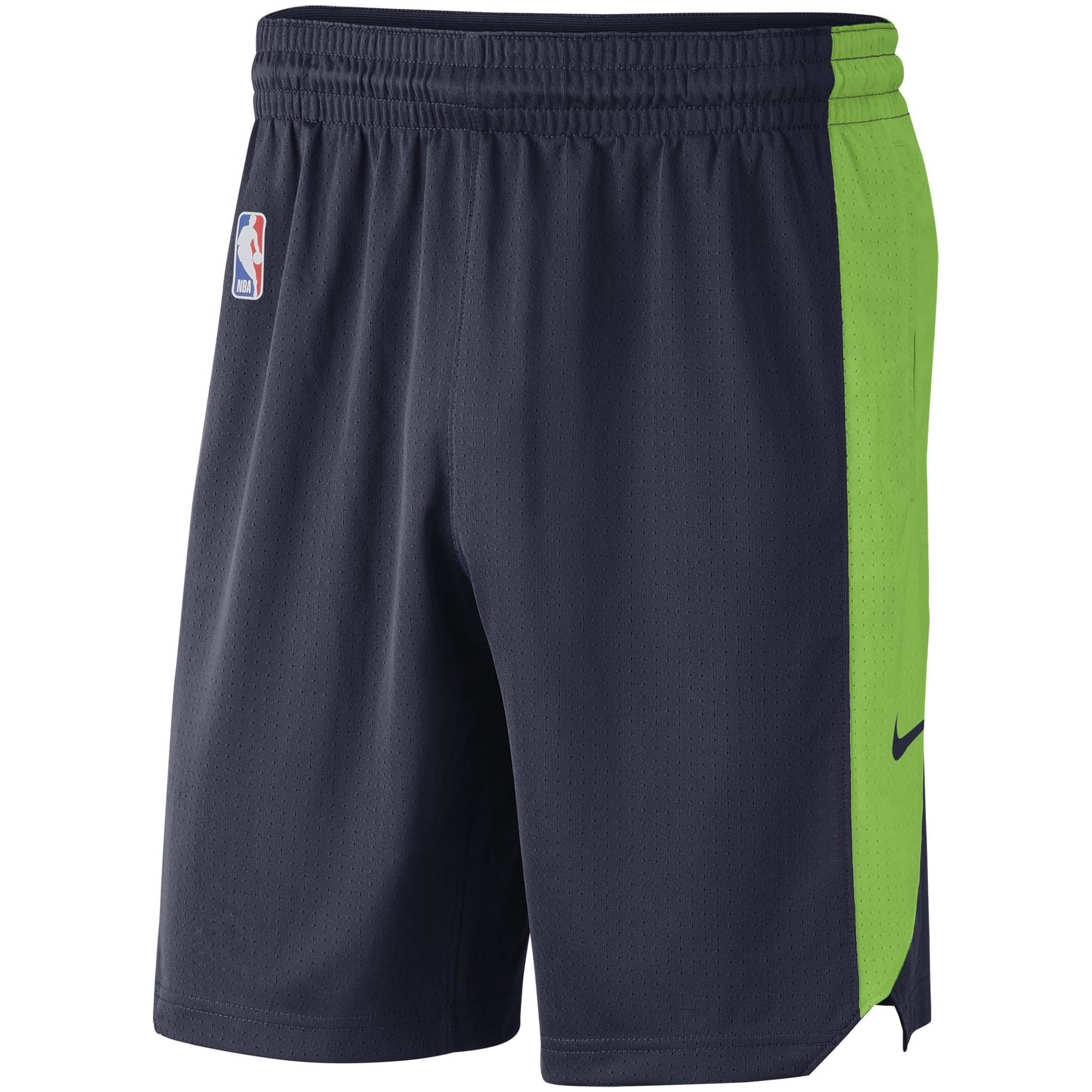 Minnesota Timberwolves Nike Performance Practice Shorts - Navy