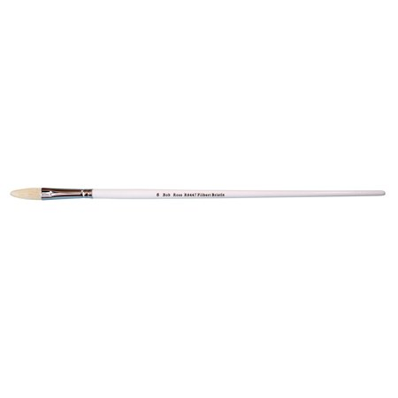 Bob Ross Oil Brush, Bristle Filbert, #6