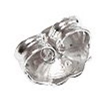 Sterling Silver Ear Back Heavy 6.5mm (1-Piece) - Replacement Earring