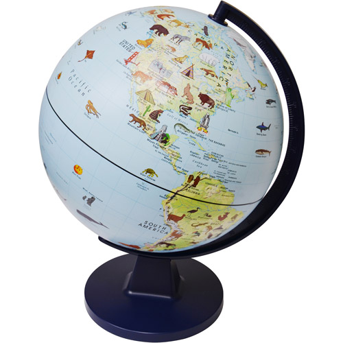Elenco Wildlife Globe
