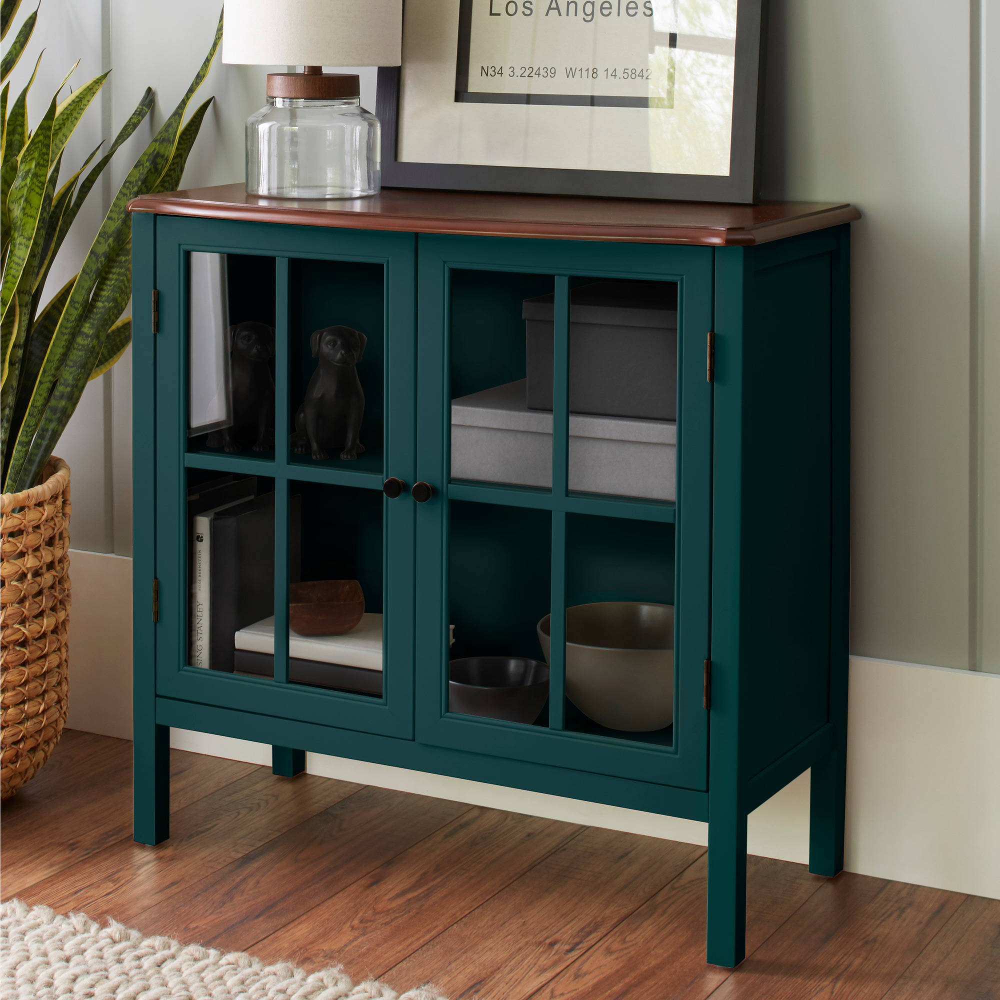 10 Spring Street Hinsdale 2-Door Cabinet, Multiple Colors
